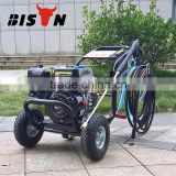 BISON Taizhou 150bar Portable Gaoline High Pressure Washer, Gasoline High Pressure Water Jet Cleaner