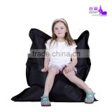 Solid Colored Children's Comfy Bean Bag Big Pillow Lounger Sofa Bed Or Chair