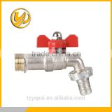 Garden bibcock,brass Washing machine tap,basin tap.wall mounted brass ball bibcock hose cock water faucet ISO CE approved