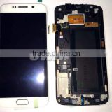 one by one tested ok for samsung galaxy s6 edge lcd digitizer assembly with frame color white