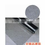 Black Conductive Carbon Lines Grid Printed Cleanroom ESD PVC Curtain