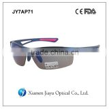 TR90 half frame polarized sports sunglasses                                                                         Quality Choice