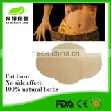 Real factory Support CE effect weight loss fat burn slim down mymi wonder patch for belly wing