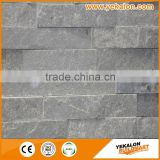 High Quality Stacked Ledge Stone,black cultural stone,roofing slate stone