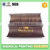Pillow shape hair weave box with your logo