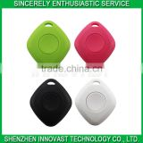 Plastic Material Prismatic Bluetooth Key Finder Tracking Devices Support IOS/Android