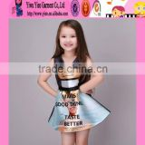 Europe market stylish kids girls evening dresses factory direct top quality baby kids girls dresses