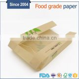 Wholesale custom Baguette Kraft Paper Bakery Bread Bag for Homemade Bread