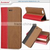 for infocus m808 for iphone wallet case flip cover customized with stand function card slots