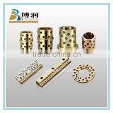 Customized Oilite Bushing/Graphite Bronze Bushing/Flanged Oilless Guide Bearing Free maintenance