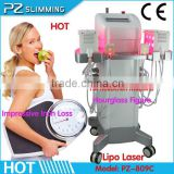 Hot Hourglass Figure Shape machine Dual Wavelength 650nm 940nm Lipo Laser Equipment for Beauty Salons hot in America and Euro
