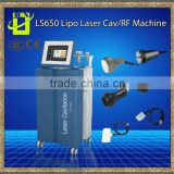 Ultrasonic Cavitation Body Sculpting Professional Slimming Cavitation Ultrasound Vacuum 5-1 Tripolar Bipolar 5 In 1 Slimming Machine Sextupole RF Photon Diode Lipo Laser Machine Weight Loss