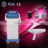 1064nm/532nm Q-Switched Nd-yag Laser/medical grade laser tattoo removal machine For Removaling Nevus Ota, Coffee Spot