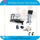 2015 Professional ECG Stress Test System PC Software Wireless for Cardiac Stress Exercise Optional Treadmill