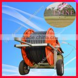 Agricultural Travelling Irrigator / Hard Hose Reel Irrigation Sprinkler Machine for Sale