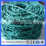 Special offer barbed wire roll price fence/barbed wire weight per meter(guangzhou factory)