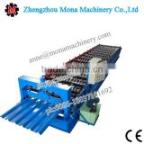 2016 New Technology Steel Coil Glazed Tile Metal Roofing Sheet Cold Roll Forming Machine