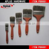 Free Sample national paints prices Hand Tool PB9881wooden handle soft bristle purdy paint brush wholesale from Dafuhao factory