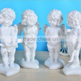 Wedding table centerpieces decoration white love cupid statues