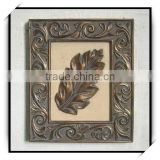 Elegance 14 inches bronze resin decorative wall plaque