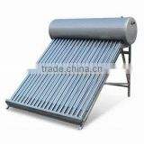 Non-press solar water heater with electric heater ,rod,controller SR500
