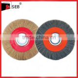 "6"" Crimped steel circular brush"
