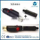 Dry herb burner or wax burner electronic cigarette metal electric hanging brass incense burner pen lighter YZ-818-1