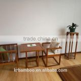 Pure handcraft Bamboo Chair for Public dining area use