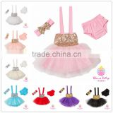 Wholesale Hot Fashion New Design Kids Sequin Tutu Dress Birthday Party Dress