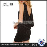 MGOO Latest Custom Made Fashion Women Satin Bobycon Dress Sheath Prom Dress Plus Size Backless Dress D605