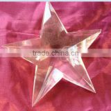 crystal star for business gift ,home decoration