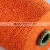 Ne 20s Nm 34 cotton polyester combed cotton knitted no yarn importer in india for bed sheet