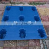 Factory direct supply long working life plactic tray/ 1210 size blow molding pallet for cargo carry