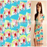 100% Bamboo Fiber digital printed fabrics for table cloth