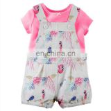 JQBD171 Wholesale Boutique Infant Outfits Clothing Sets Newborn Baby Knitted Cotton Clothes