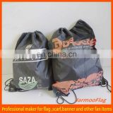 cheap cartoon drawstring bag for water bottle
