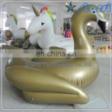 Giant Inflatable Golden Swan pool floats For Amazon
