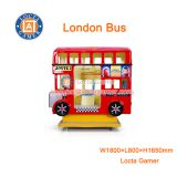Zhongshan amusement Rocking Machine car game swing machine London Bus kiddie rides