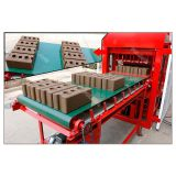 automatic compressed earth clay soil interlocking brick block making machine