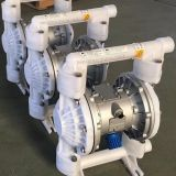 QBK PVDF plastic air operated double diaphragm pump
