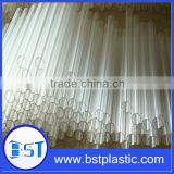 Extruion cheap plastic polycarbonate tube clear