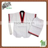 short sleeve taekwondo dobok for summer