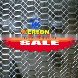 senke hexagonal and diamond pattern Expanded Metal Mesh used for Partition wall,outdoor wall