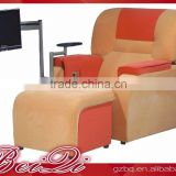 Beiqi Guangzhou King Size Luxury Durable SPA Pedicure Chair with TV Beauty Salon Foot Massage Chair Equipment