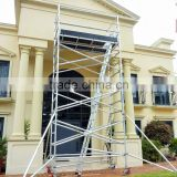 5m double Aluminium Mobile scaffolding TOWER