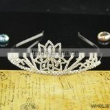 2015 Fashion wholesale pageant crowns and tiaras birthday kids crown