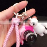 Plastic Cheap Action Figure Blank Key Chain for Promotion