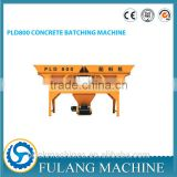 PLD800 computer control automatic two hopper concrete batching machine for concrete block machine