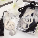 creative stainless steel bookmark musicial note shape bookmark wedding gift party giveaways