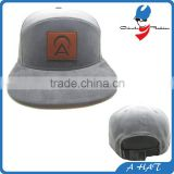 custom corduroy snapback hats with leather patch logo wholesale                                                                                                         Supplier's Choice